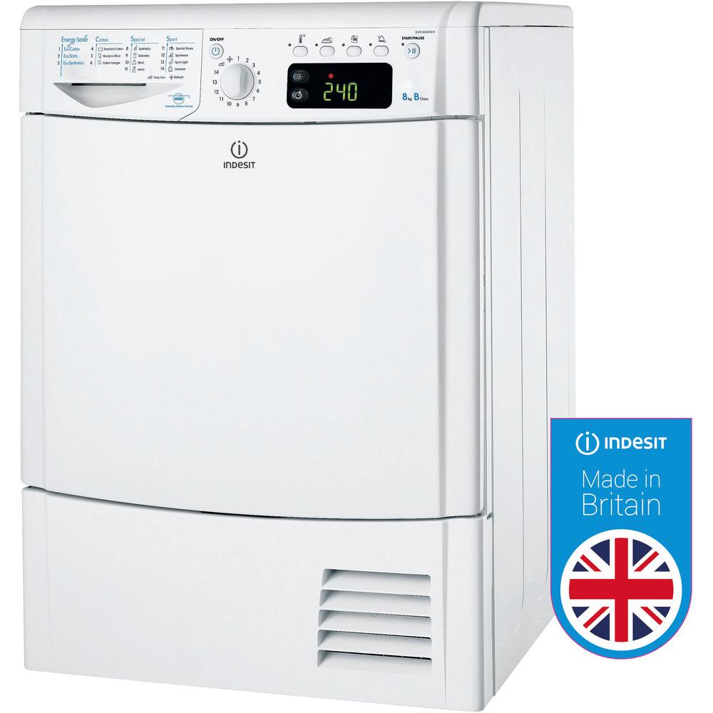 Indesit Dryer IDCE 8450 B H (UK) White Award