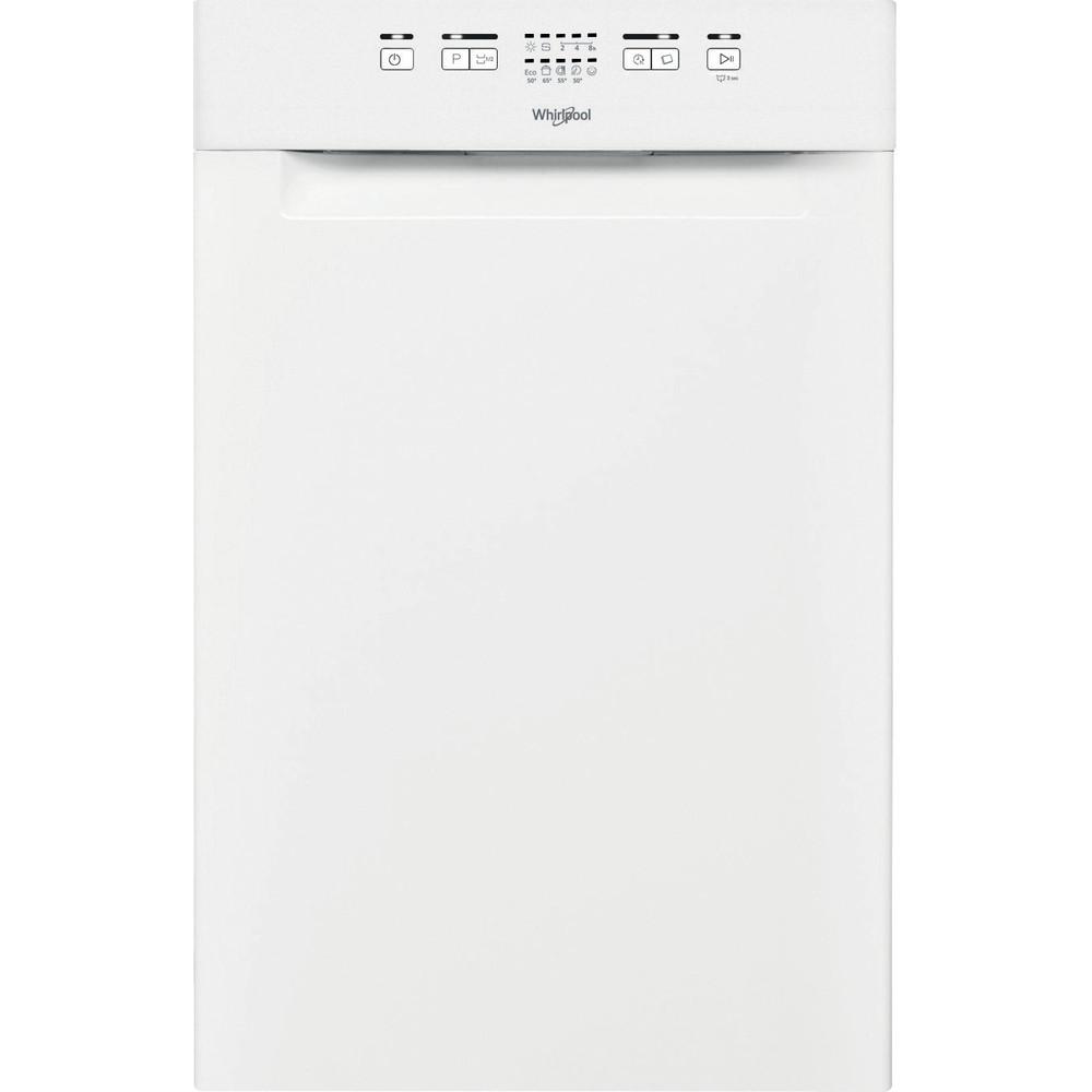 Whirlpool oppvaskmaskin: farge hvit, 45 cm - WSUE 2B19