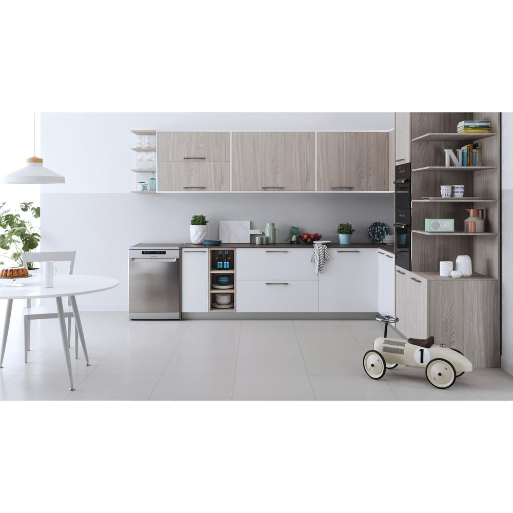 Indesit Lave-vaisselle Pose-libre DFC 2C24 A X Pose-libre E Lifestyle frontal