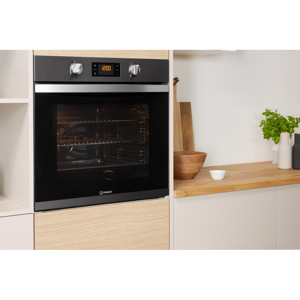 Indesit OVEN Built-in KFW 3844 H IX UK Electric A+ Lifestyle perspective