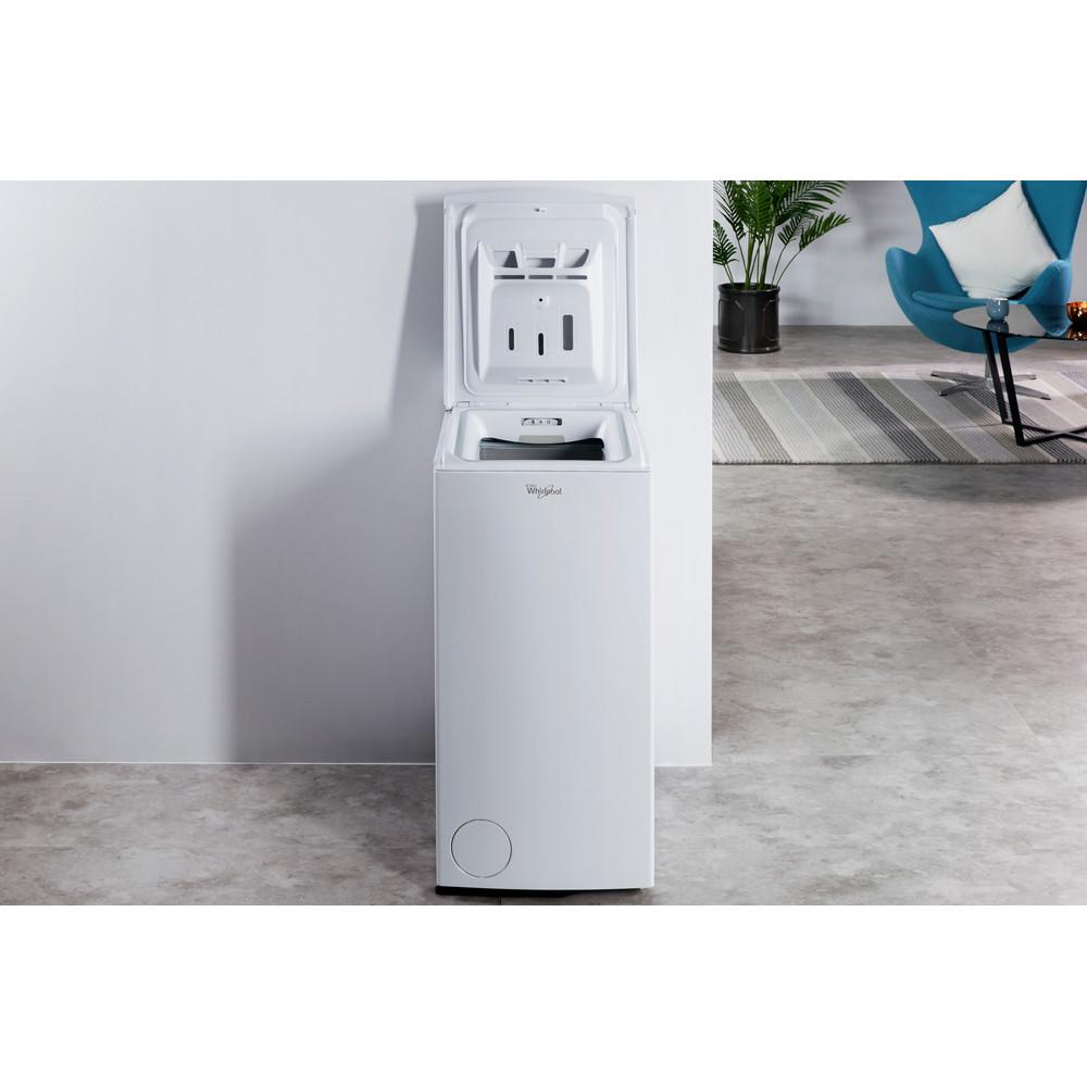 Lavadora carga superior de libre instalación Whirlpool: 6kg - AWE 8761