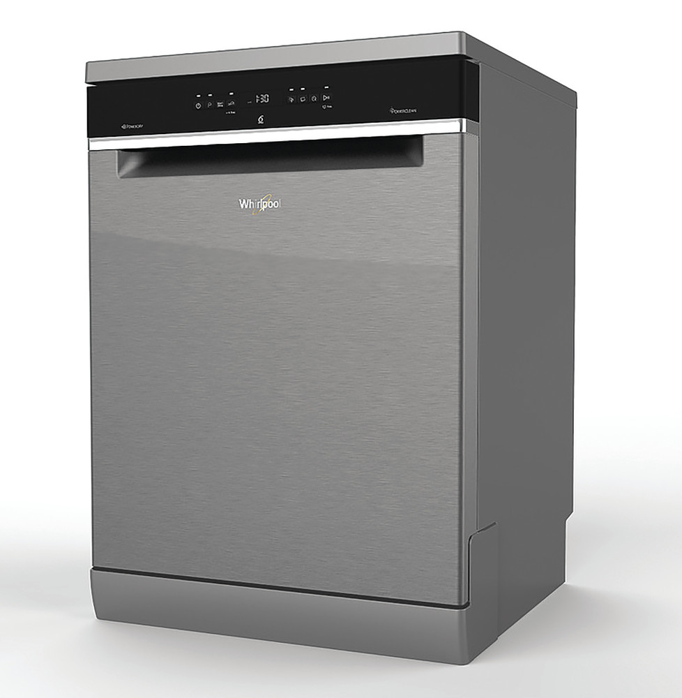 Whirlpool Dishwasher Free-standing WFC 3C24 P X UK Free-standing E Perspective