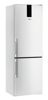 Vapaasti sijoitettava Whirlpool jääkaappipakastin: huurtumaton - W7 821O W H