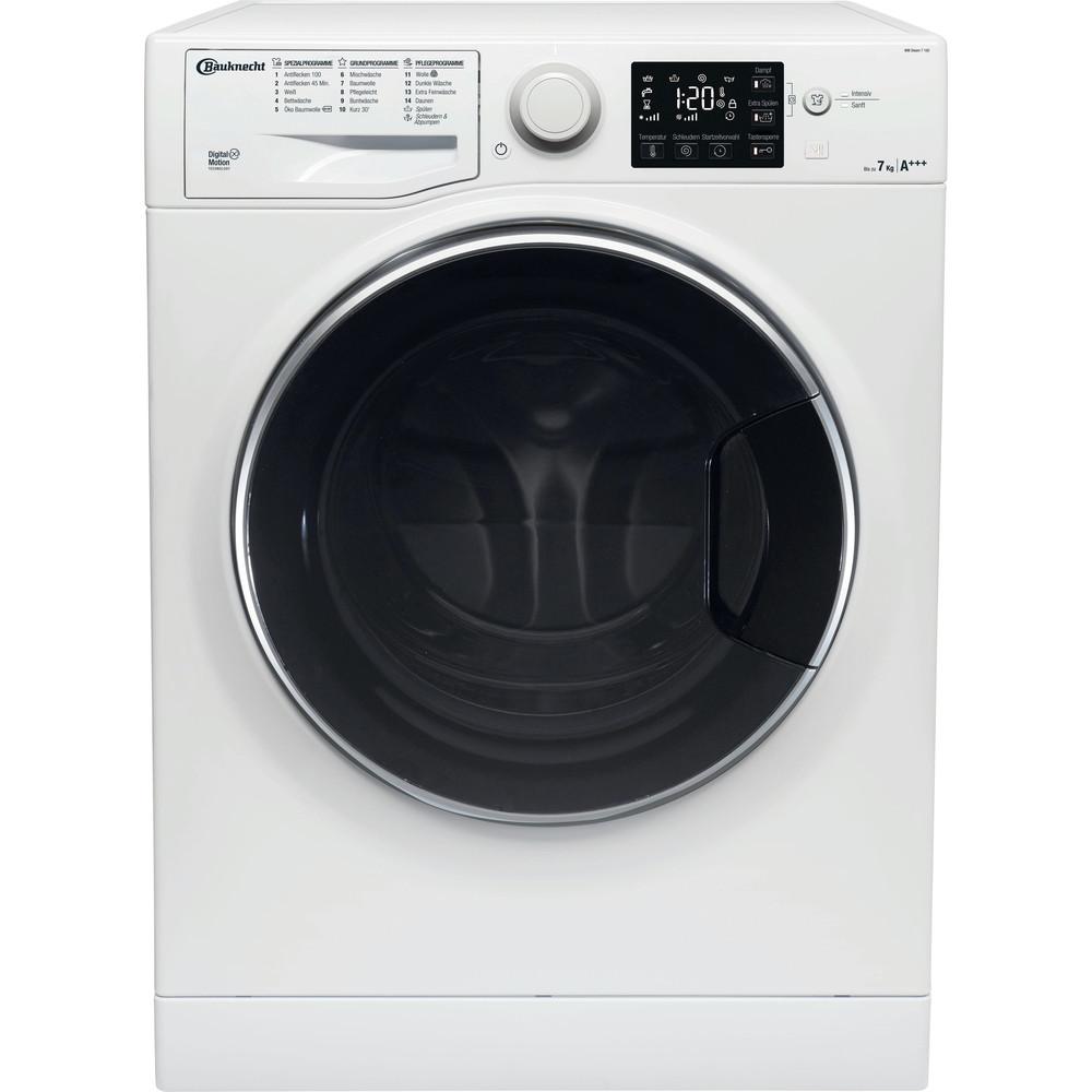 Bauknecht Waschmaschine Standgerät WM Steam 7 100 Weiss Frontlader A+++ Frontal