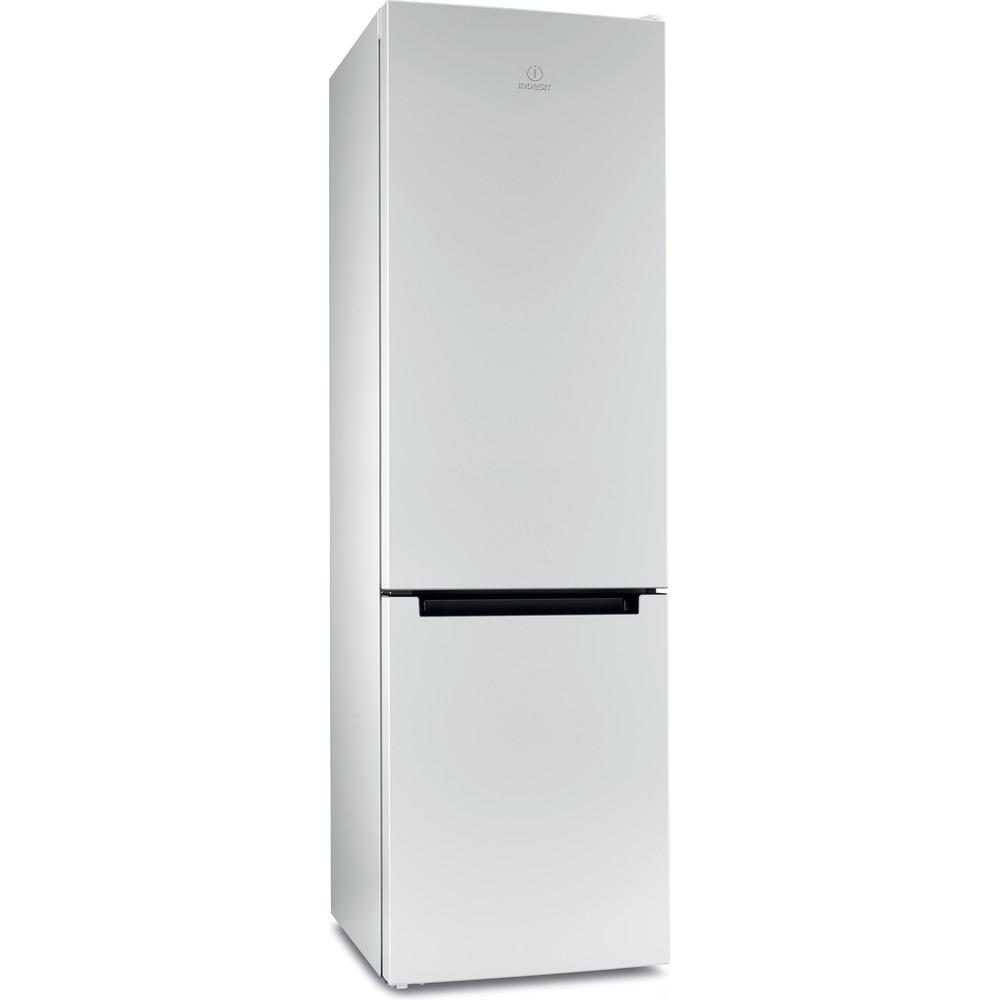 Indesit Холодильник с морозильной камерой Отдельностоящий DFN 20 Белый 2 doors Perspective