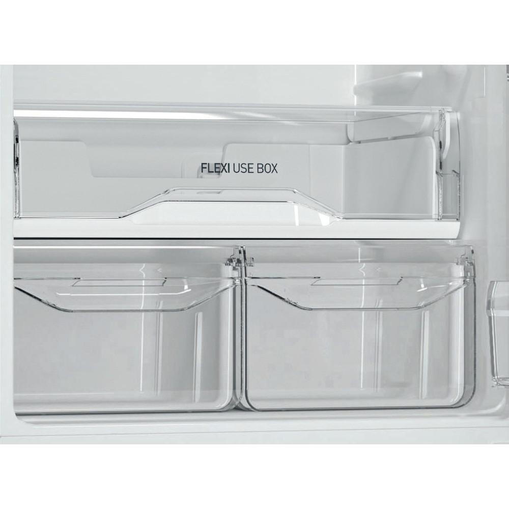 Indesit Холодильник с морозильной камерой Отдельностоящий DS 4200 W Белый 2 doors Drawer