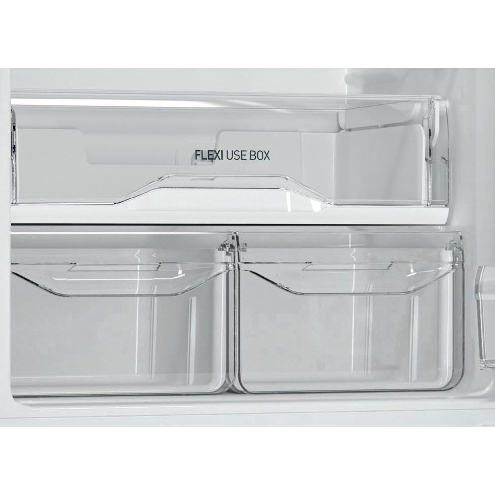 Indesit Холодильник с морозильной камерой Отдельностоящий DS 4180 SB Серебристый 2 doors Drawer