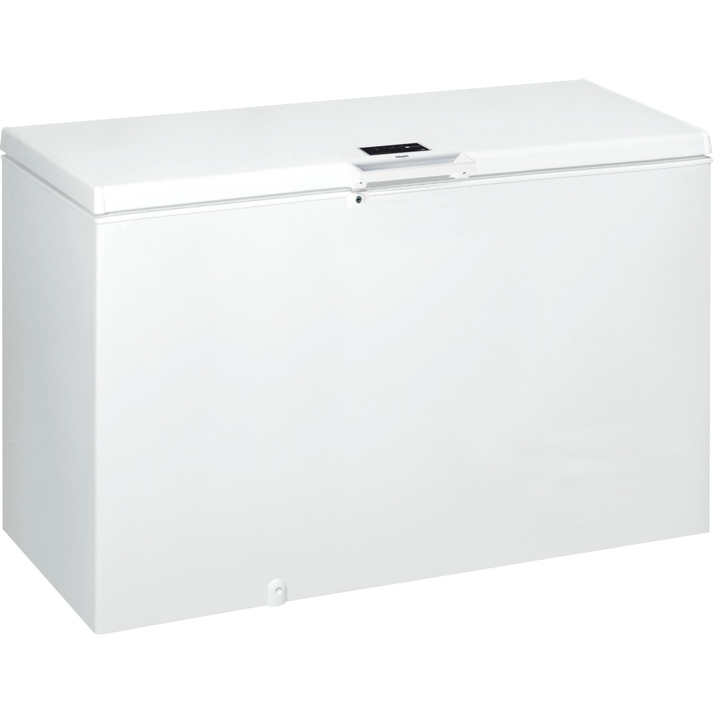 Hotpoint Freezer Free-standing CS1A 400 H FM FA UK 1 White Perspective