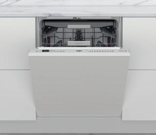 Kalusteisiin sijoitettava Whirlpool astiapesukone: Hopeanvärinen, Täysikokoinen - WKCIO 3T133 PFE