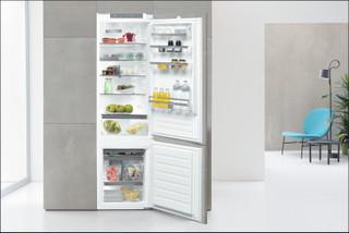 Kalusteisiin sijoitettava Whirlpool jääkaappipakastin - ART 9811/A++ SF