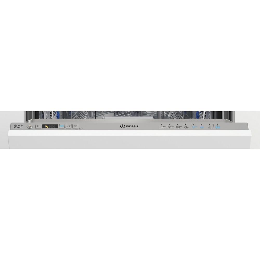 Indesit Lave-vaisselle Encastrable DIC 3C24 AC S Tout intégrable E Control panel