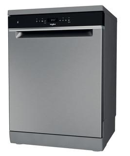Whirlpool mašina za pranje sudova: inox boja, standardne veličine - WFO 3T142 X