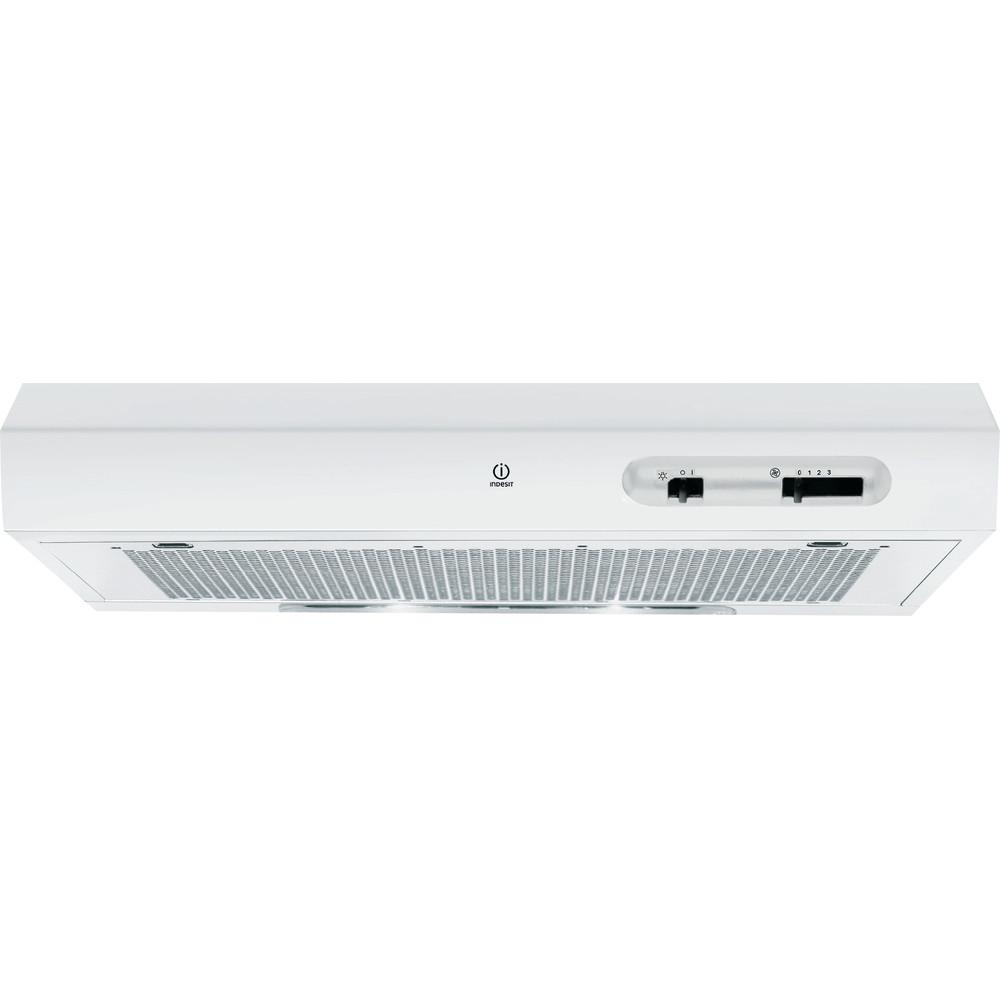 Indesit Hotte Encastrable ISLK 66 LS W Blanc Pose-libre Mécanique Frontal