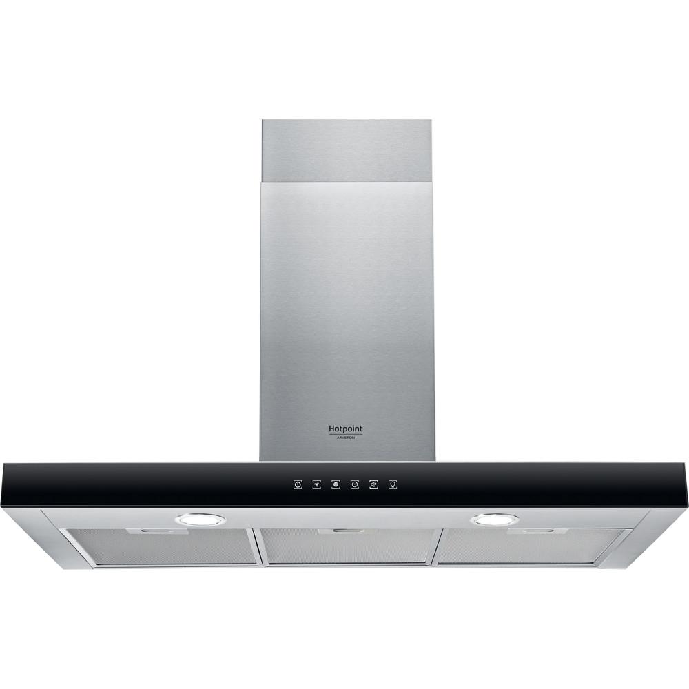 Hotpoint_Ariston Cappa Da incasso HHBS 9.8F LT X Inox Montaggio a parete Elettronico Frontal