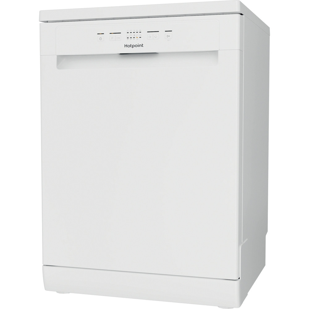Hotpoint Dishwasher Free-standing HFC 2B19 UK N Free-standing F Perspective