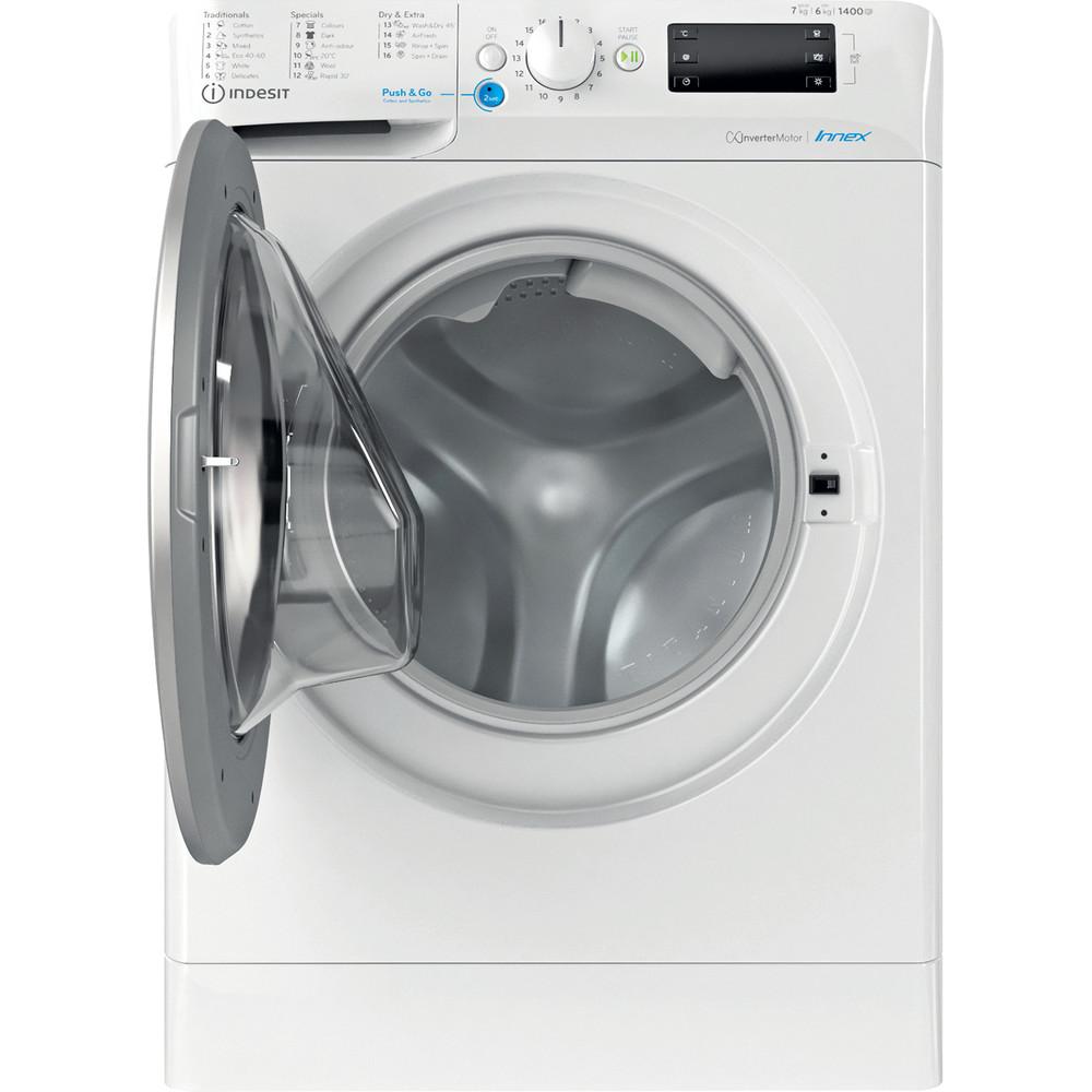 Indesit Mašina za pranje i sušenje veša Samostojeći BDE 761483X WS EE N Bijela Front loader Frontal open