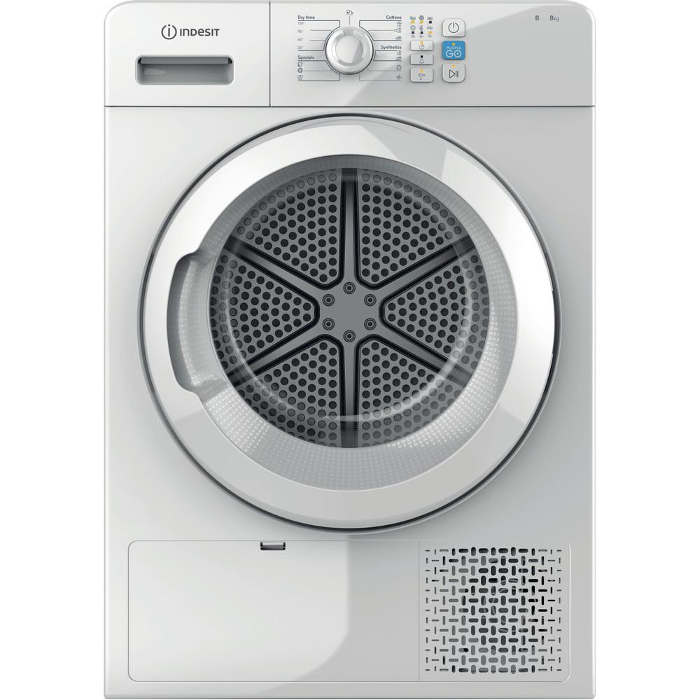 Indesit Mašina za sušenje veša YT CM08 8B EU Bijela Frontal