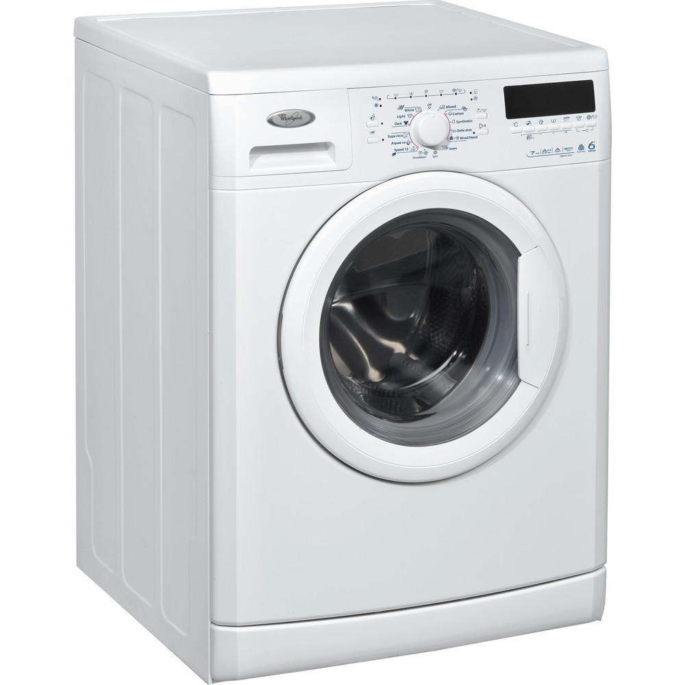 Whirlpool frontmatad tvättmaskin: 7 kg - AWO/D 7216