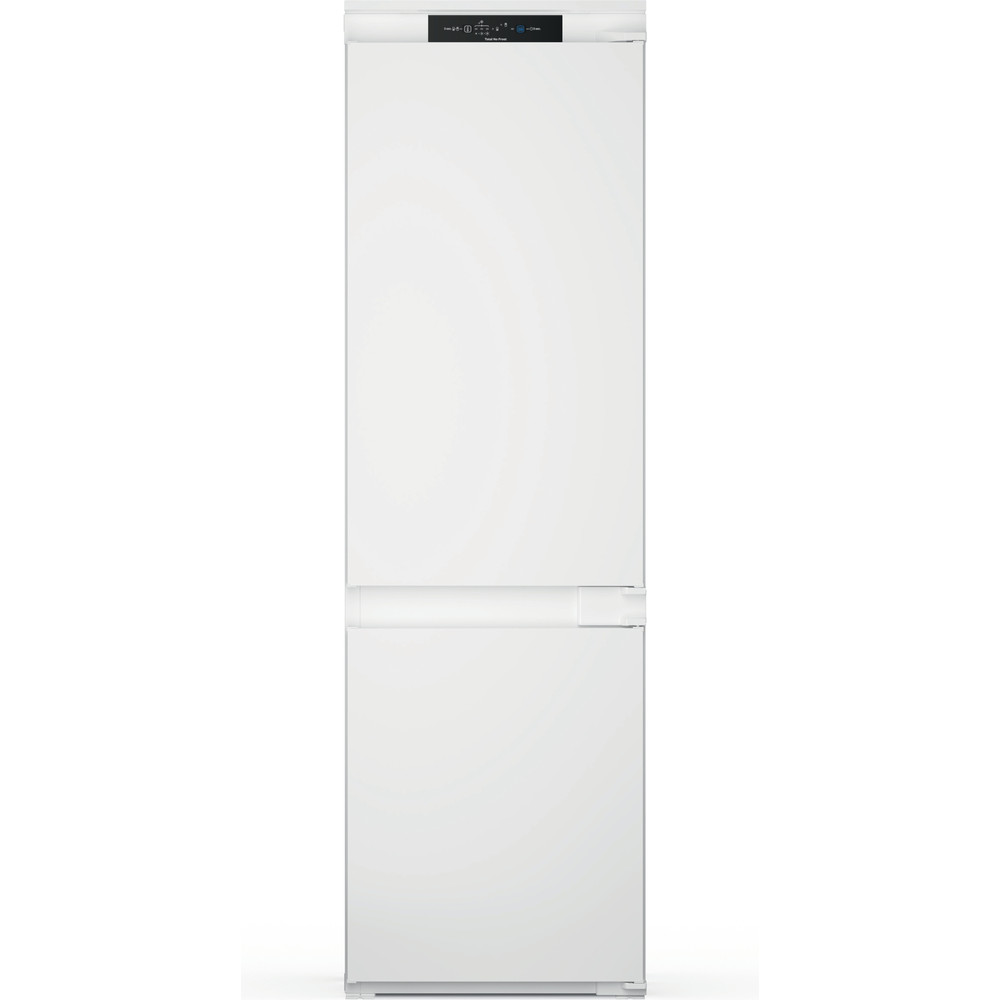 Indesit Combiné réfrigérateur congélateur Encastrable INC18 T332 Blanc 2 portes Frontal