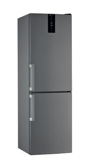 Vapaasti sijoitettava Whirlpool jääkaappipakastin: huurtumaton - W7 831T OX H