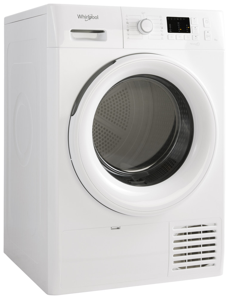 Whirlpool Dryer FT CM10 8B EU Bela Perspective