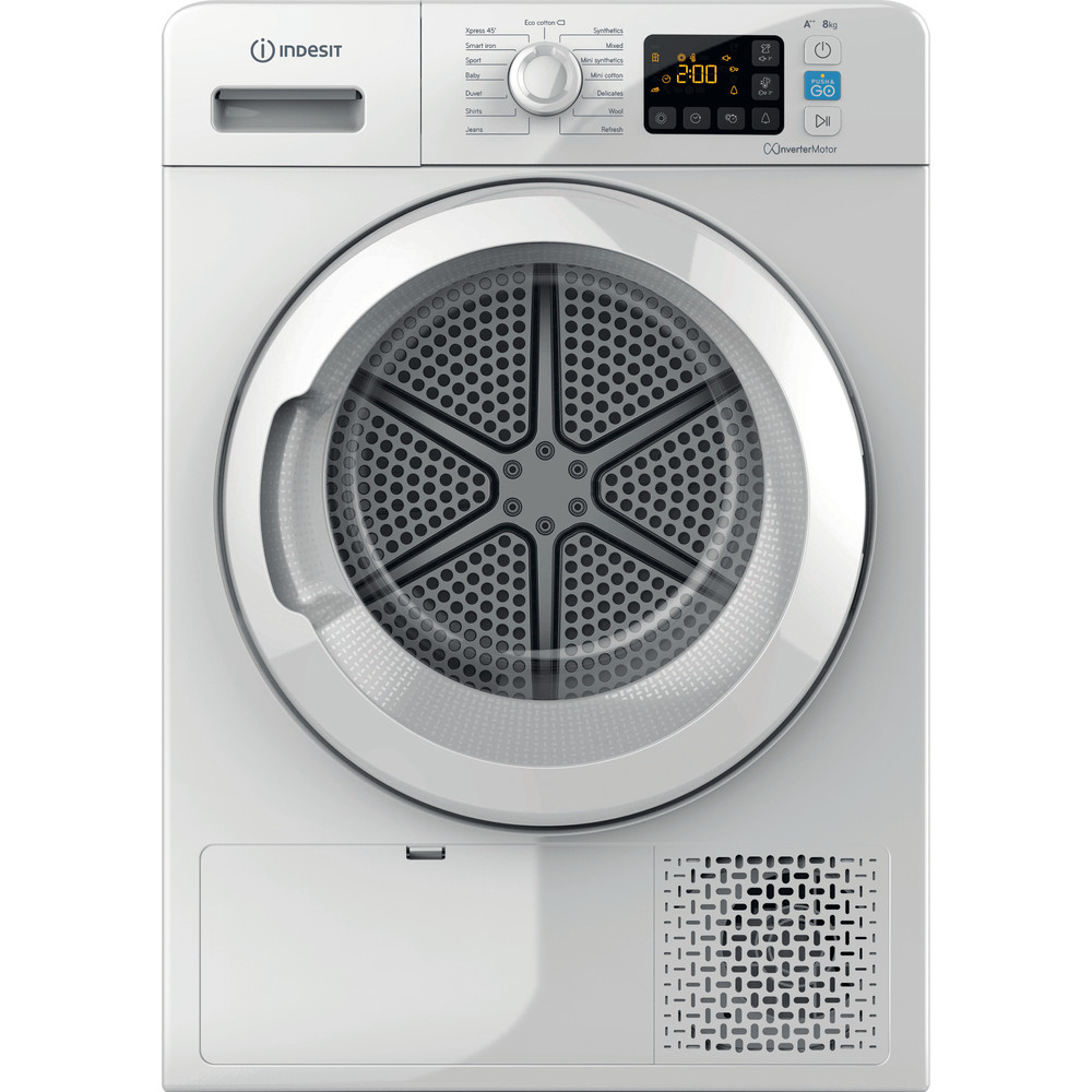 Indesit Dryer YT M11 82 X UK White Frontal