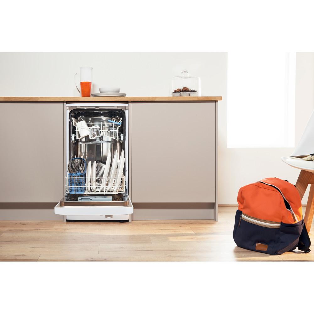 Indesit Посудомоечная машина Отдельно стоящий DSR 15B1 EU Отдельно стоящий A Lifestyle frontal open