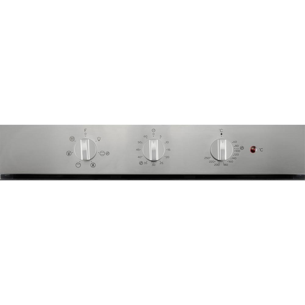 Indesit Fornos Encastre IFW 3534 H IX Elétrico A Control panel
