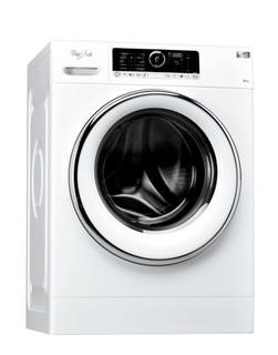 Máquina de lavar roupa de carga frontal de livre instalação da Whirlpool: 9 kg - FSCR 90421