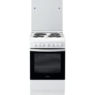 Indesit Готварска печка IS5E5PCW/E Бял Electrical Frontal