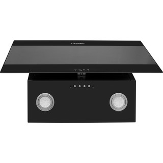 Indesit Campana Encastre IHVP 6.6 LM K Negro Wall-mounted Mecánico Frontal