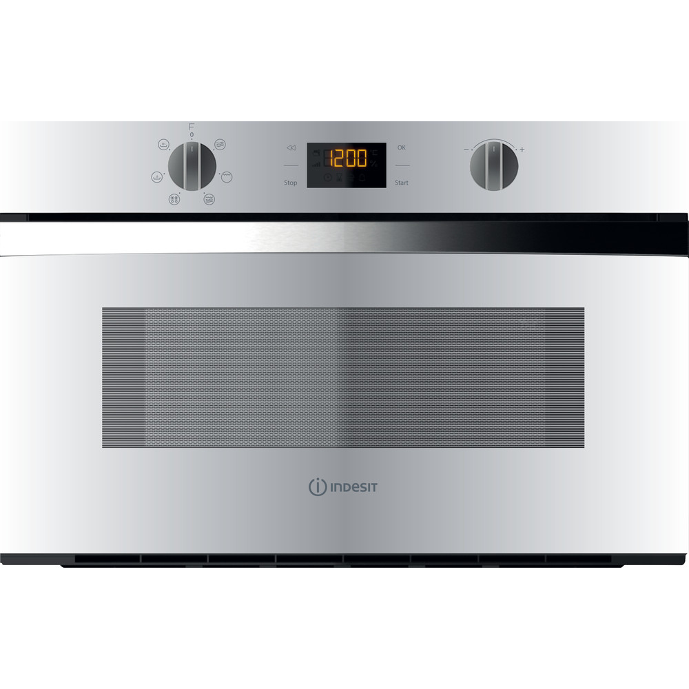 Indesit Microonde Da incasso MWI 4343 WH Bianco Elettronico 31 Microonde + grill 1000 Frontal