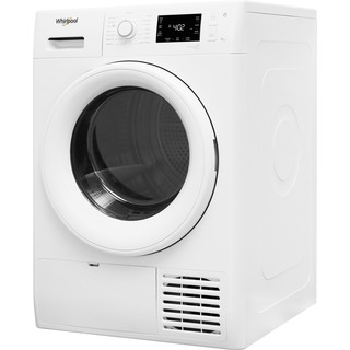 Whirlpool Dryer FT M22 9X2 UK White Perspective