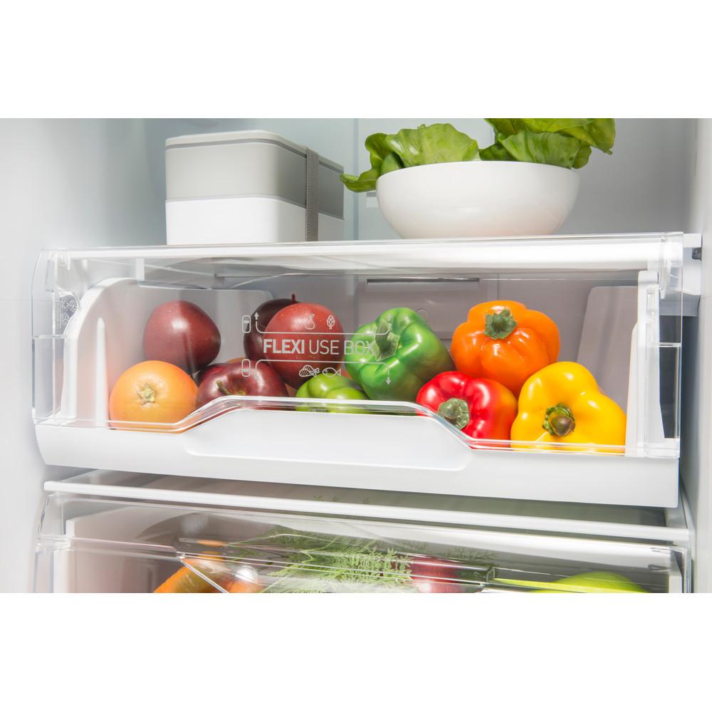 Indesit Холодильник с морозильной камерой Отдельно стоящий LI8 N1 W Белый 2 doors Drawer