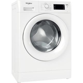Whirlpool Perilica za rublje Samostojeći FWSG 61251 W EE N Bijela Prednje punjenje F Perspective