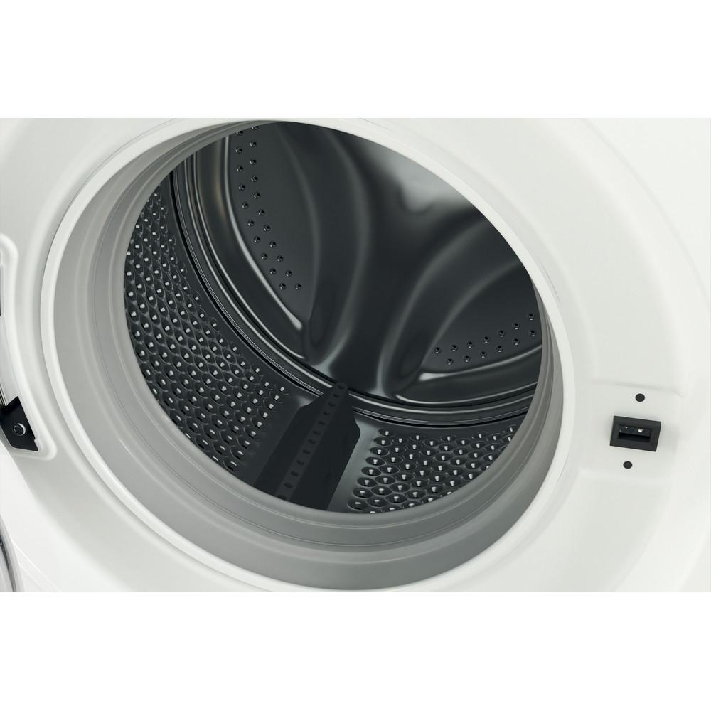 Indsit Maşină de spălat rufe Independent MTWE 81283 WK EE Alb Încărcare frontală D Drum