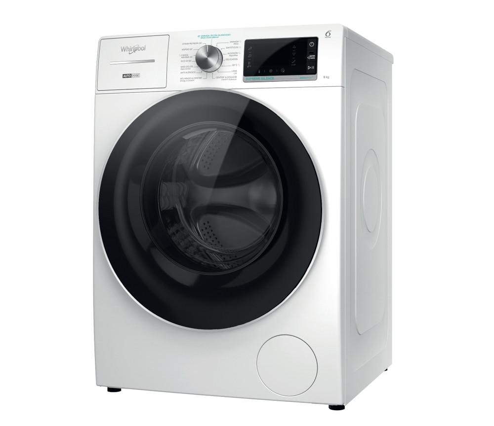 Whirlpool Máquina de lavar roupa Independente com possibilidade de integrar W8 W946WR SPT Branco Carga Frontal A Perspective