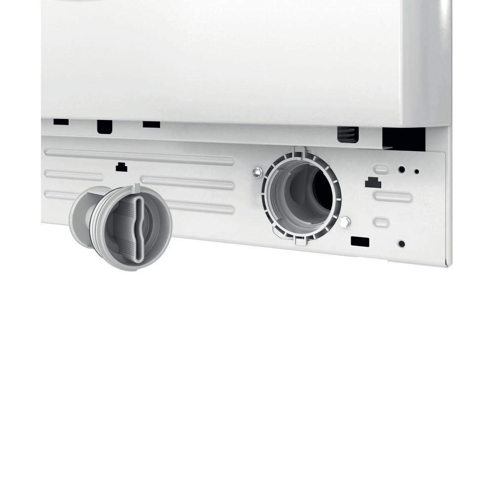 Indesit Lavante-séchante Pose-libre BDE861483XWFR N Blanc Lave-linge frontal Filter
