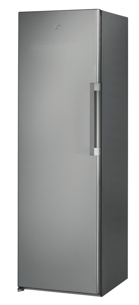 Whirlpool Freezer Free-standing UW8 F2C XB UK 2 Optic Inox Perspective
