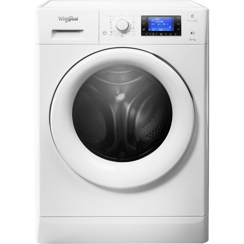 Whirlpool FWDD1071681W Washer Dryer in White