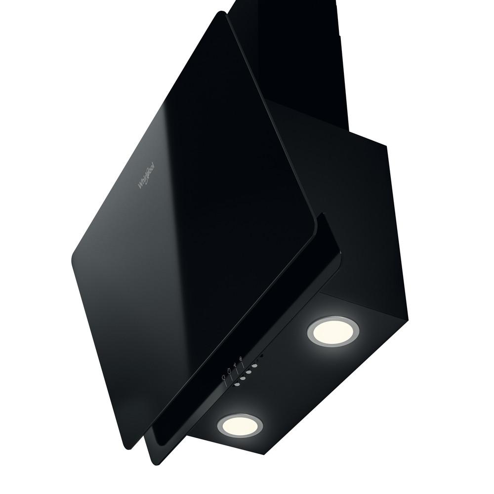 Whirlpool Gartraukis Įmontuojamas WHVP 65F LM K Juoda Laisvai pastatomas Elektroninis Perspective
