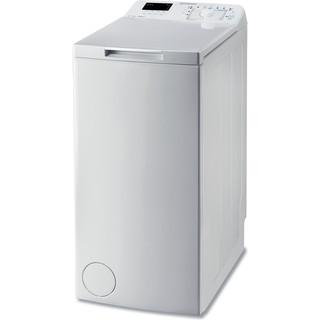 Indesit Стиральная машина Отдельно стоящий BTW D51052 (EU) Белый Top loader A++ Perspective