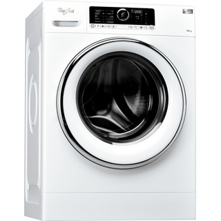 Whirlpool Máquina de lavar roupa Independente com possibilidade de integrar FSCR 10425 Branco Carga Frontal A+++ Perspective