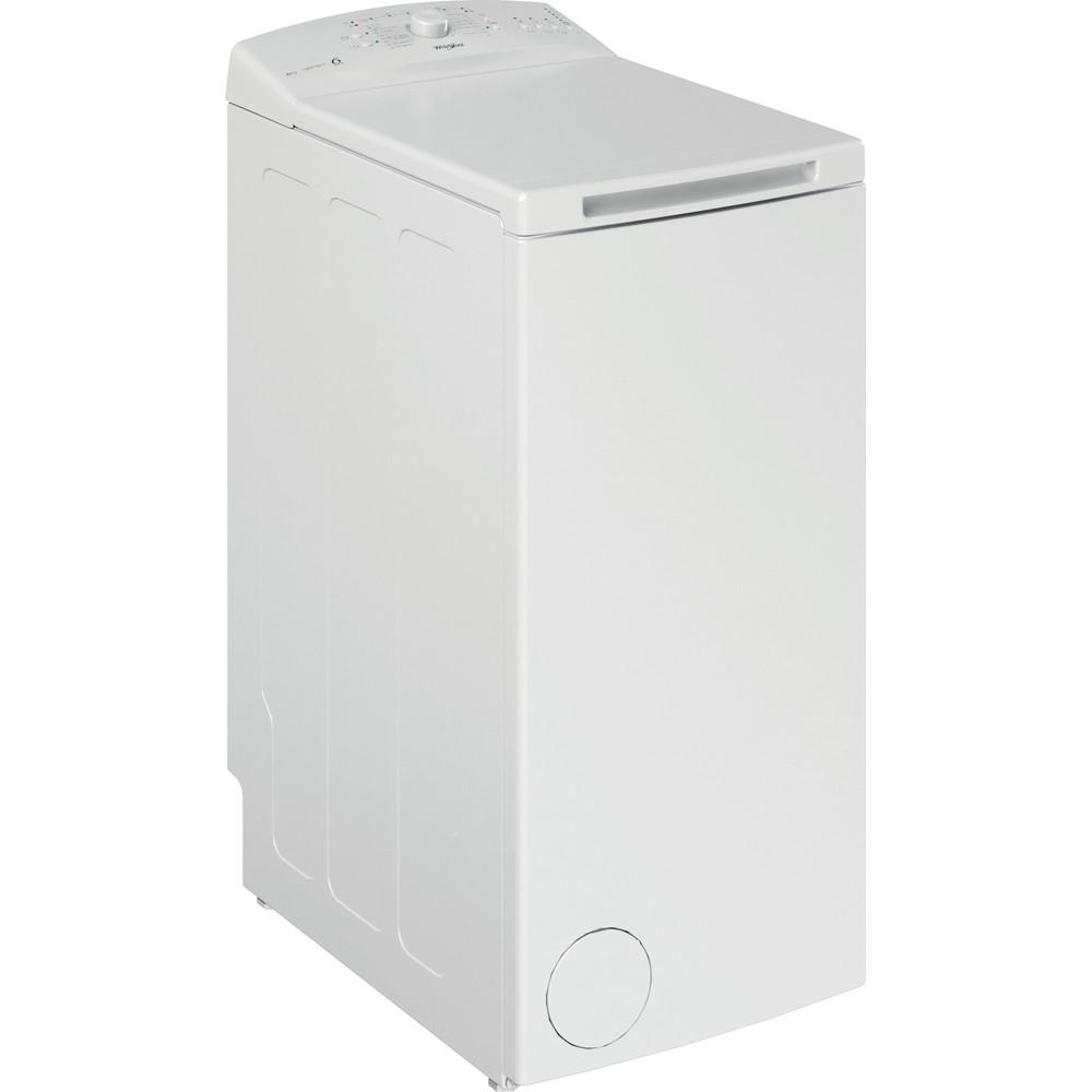 Whirlpool toppmatad tvättmaskin: 6 kg - TDLR 6030L EU/N