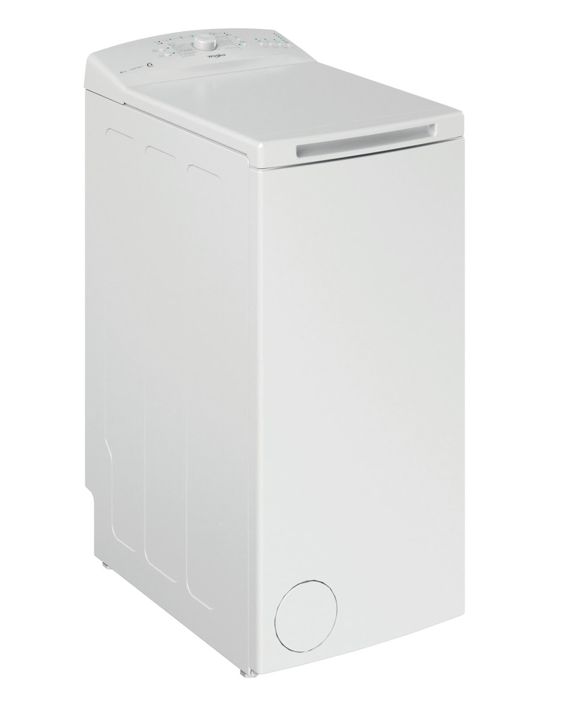 Whirlpool Washing machine Samostojni TDLR 6030L EU/N Bela Top loader A+++ Perspective