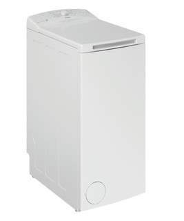 Whirlpool prostostoječi pralni stroj z zgornjim polnjenjem: 6,0 kg - TDLR 6030L EU/N