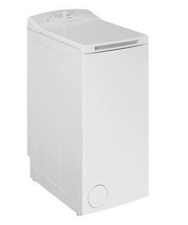 Fritstående Whirlpool-vaskemaskine med topbetjening: 6 kg - TDLR 6030L EU/N