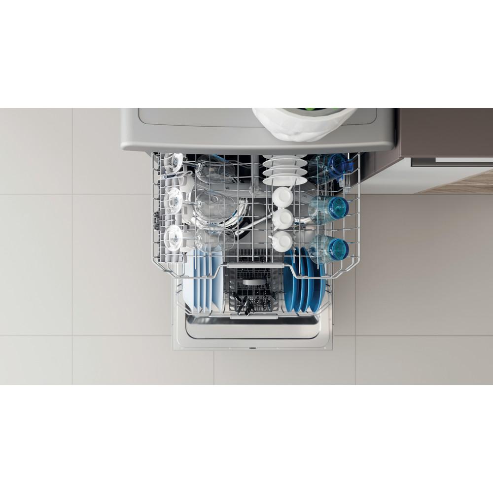 Indesit Dishwasher Free-standing DFC 2B+16 S UK Free-standing F Lifestyle detail