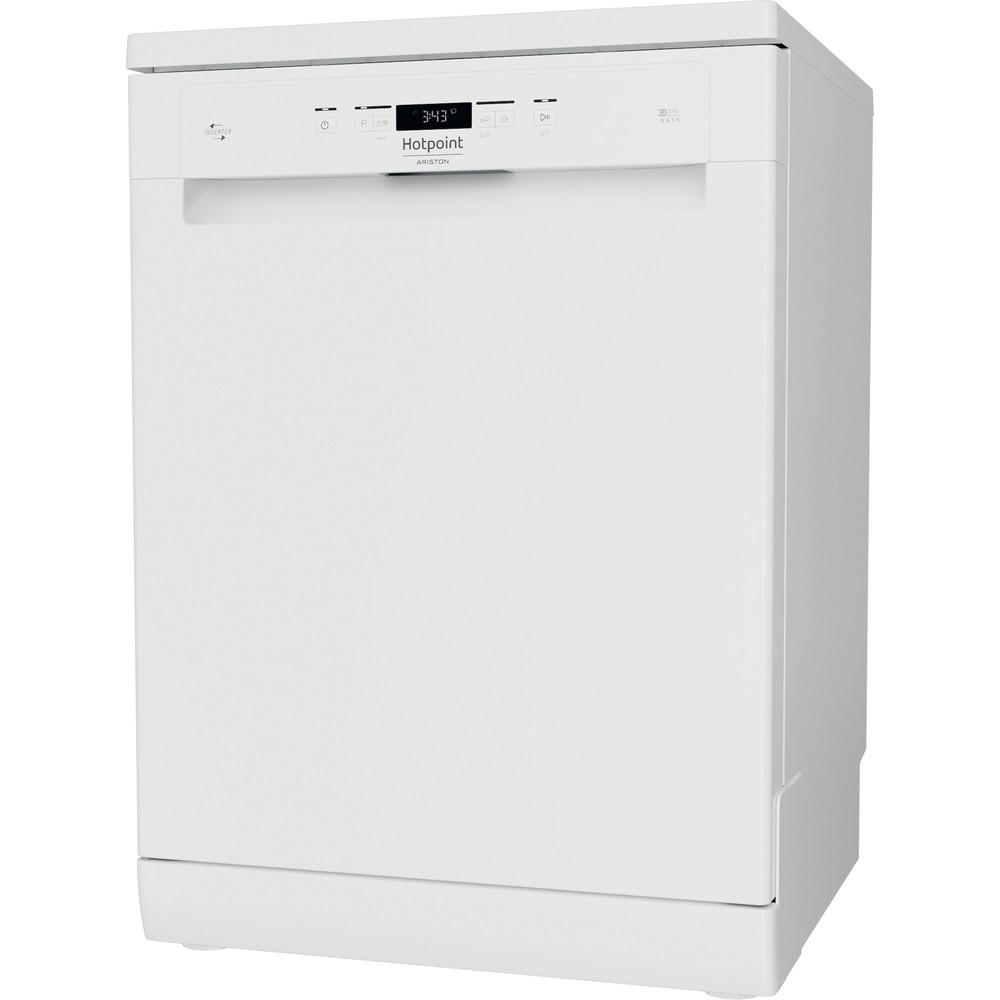 Hotpoint_Ariston Máquina de lavar loiça Livre Instalação HFC 3T232 WG Livre Instalação D Perspective