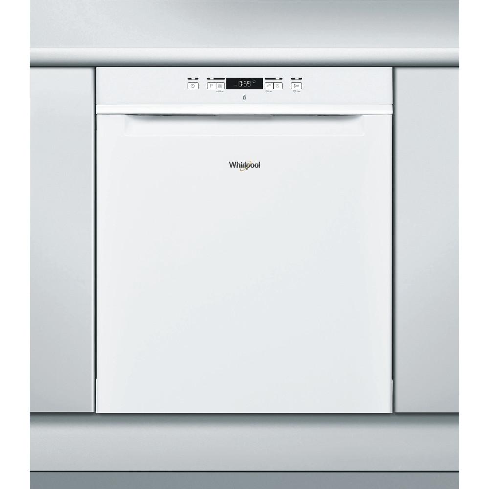 Whirlpool oppvaskmaskin: farge hvit, 60 cm - WUC 3C24 F